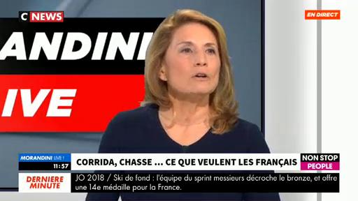 Reha Hutin,  présidente de 30 Millions d'amis, demande l'interdiction de la chasse le dimanche en France