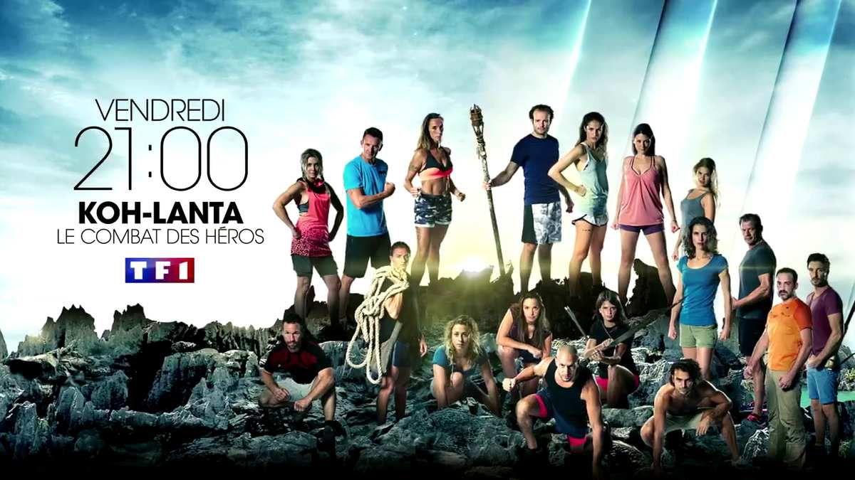 Vendredi à 21h00 sur TF1, un nouvel épisode de Koh Lanta, le combat des héros