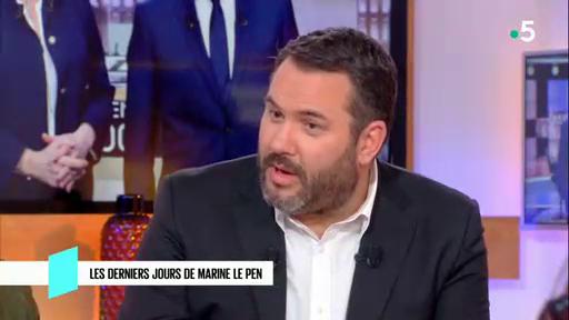Bruce Toussaint pense que Marine Le Pen n'a jamais cru qu'elle pouvait gagner la Présidentielle