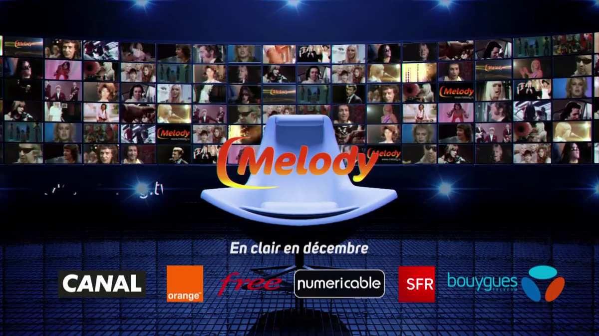 Melody sera en clair tout le mois de décembre sur tous les opérateurs
