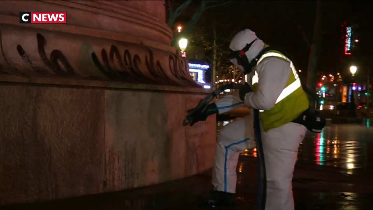 Les agents de la ville de Paris se mobilise pour lui redonner de l'éclat