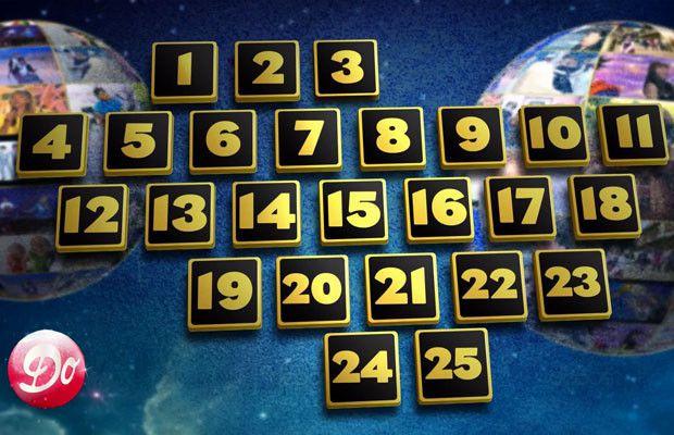Le calendrier de l'avent de Génération Club Do, aujourd'hui 10 décembre