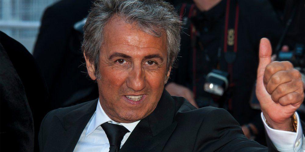 Richard Anconina actuellement en tournage pour France 2 dans Paris et sa région