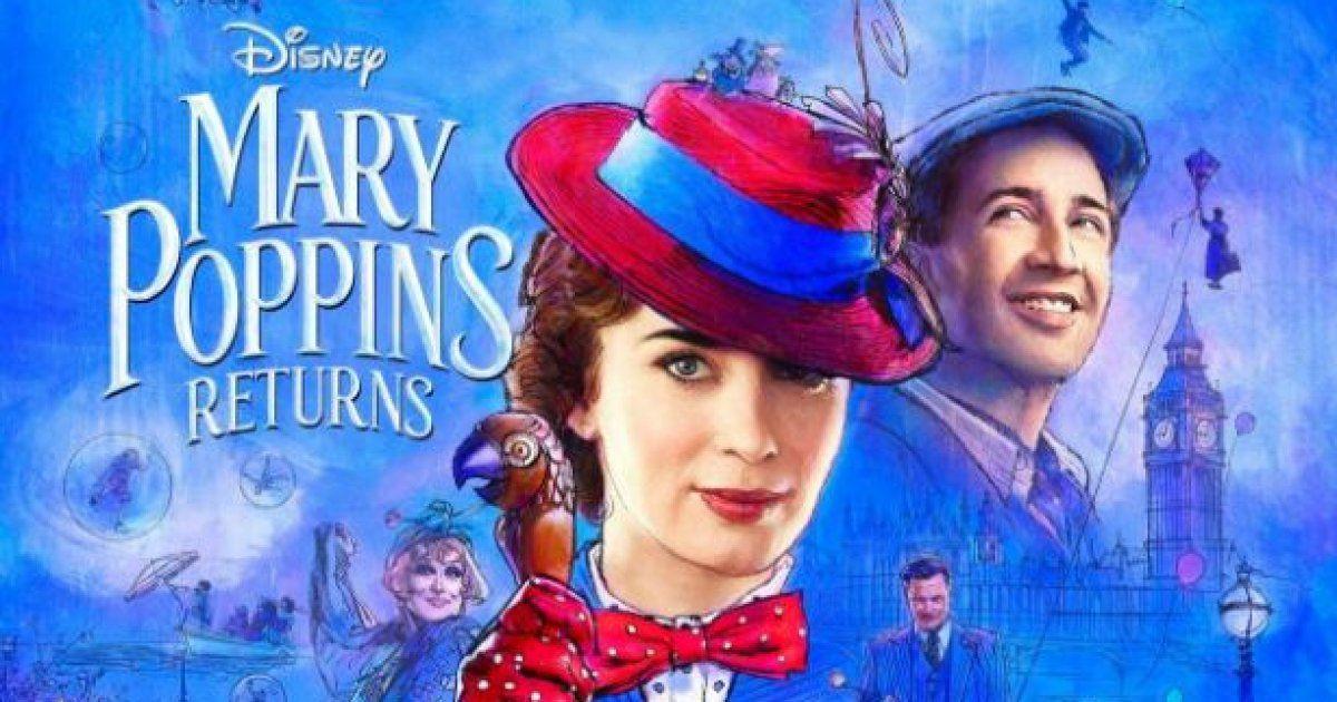 Le retour de Mary Poppins en salle dès le 19 décembre