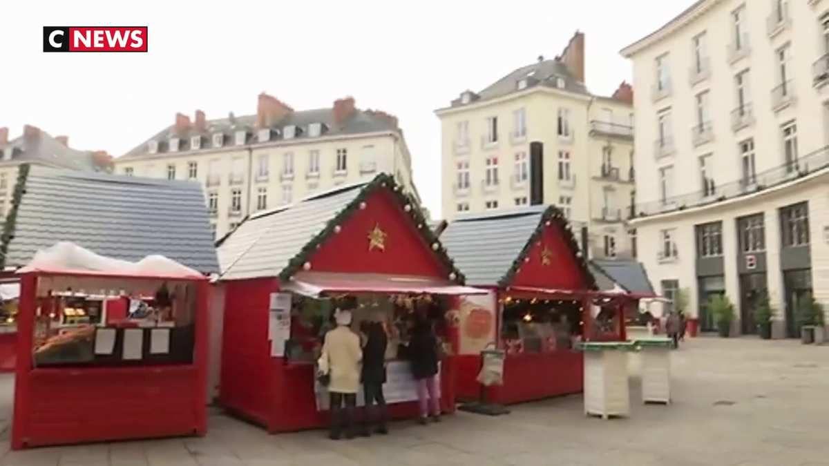 Le marché de Noël de Nantes, déjà impacté par une attaque, est sous haute surveillance