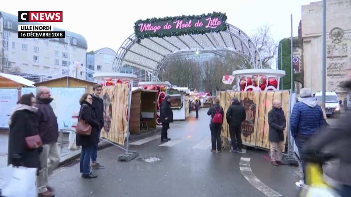 Un début difficile pour le marché de Noël de Lille
