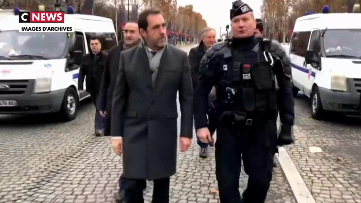 Gilets jaunes : Christophe Castaner veut que la justice poursuive Eric Drouet