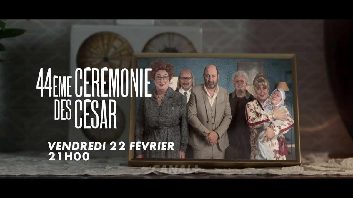 Découvrez la programmation spéciale des César 2019 durant la semaine du samedi 16 au vendredi 23 février ainsi que la Bande annonce de la cérémonie qui aura lieu sur Canal+ avec Kad Mérad