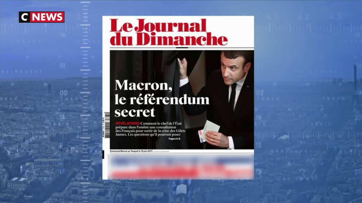 Emmanuel Macron sur le point d'organiser un référendum ?