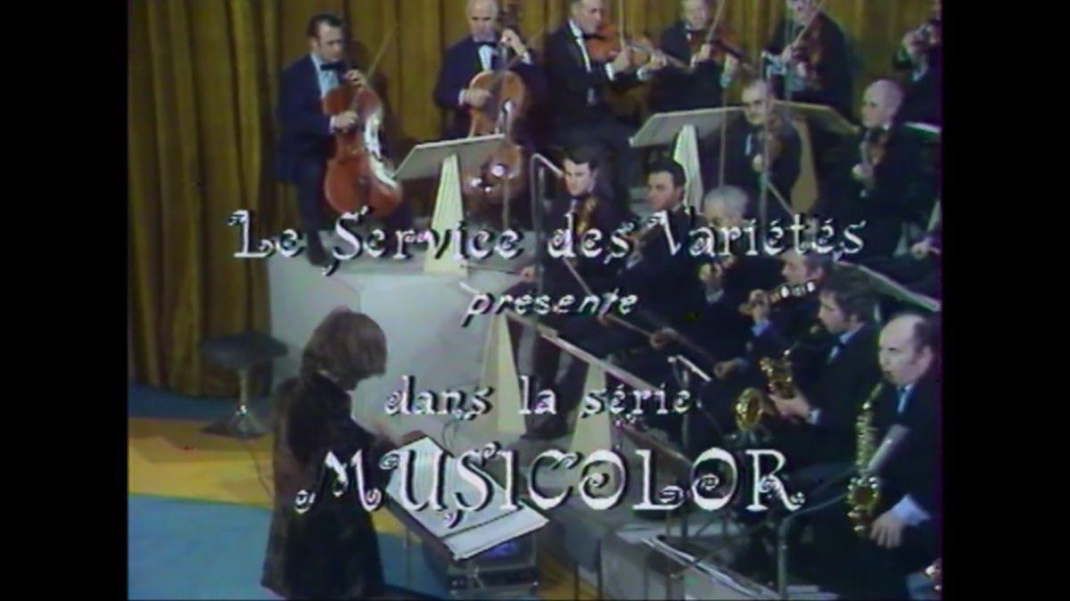 """""""Musicolor"""", un show jamais revu depuis 1970, le samedi 2 mars à 20h40 sur TV Melody"""