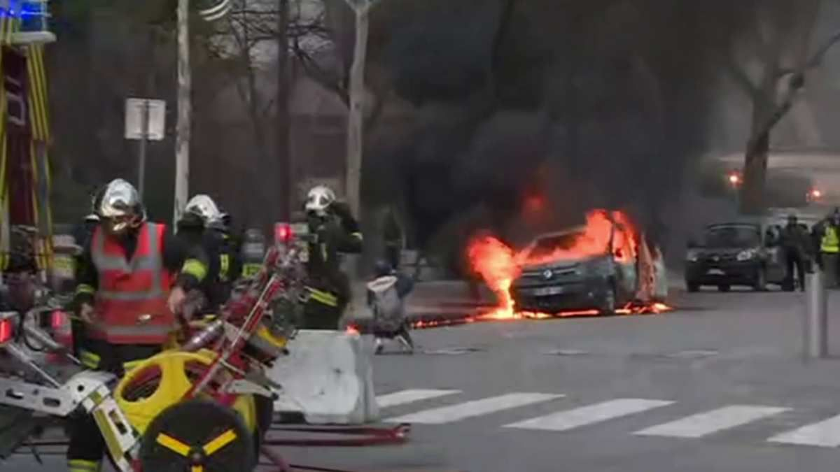 Casse, violences et incendie : L'itinéraire de l'homme qui a brûlé le véhicule Sentinelle