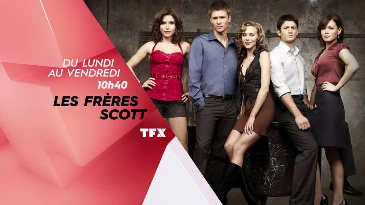 Dès lundi prochain, à partir de 10h40, TFX rediffusera l'intégralité de la série Les Frères Scott