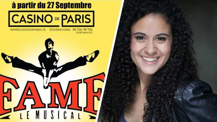 « FAME Le Musical » au Casino de Paris à partir du 27 Septembre avec la star de Disney Cerise Calixte