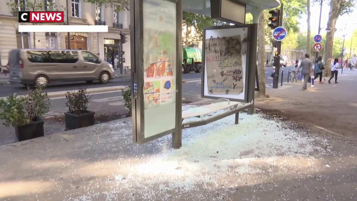Samedi de manifestations : De nombreux dégâts dans la capitale