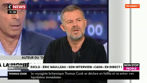 """Eric Naulleau : """"Non, Eric Zemmour n'est pas raciste et c'est mon ami pour la vie !"""""""