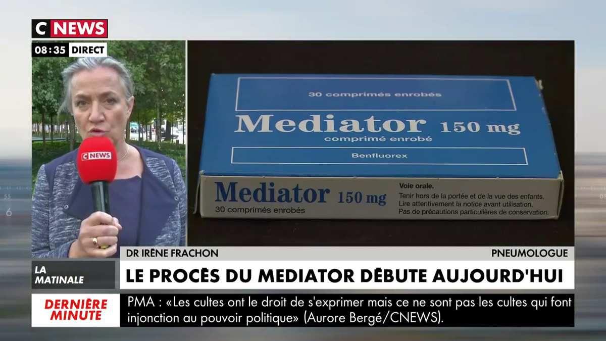 Procès Mediator : La pneumologue à l'origine de l'éclatement du scandale s'exprime sur CNEWS
