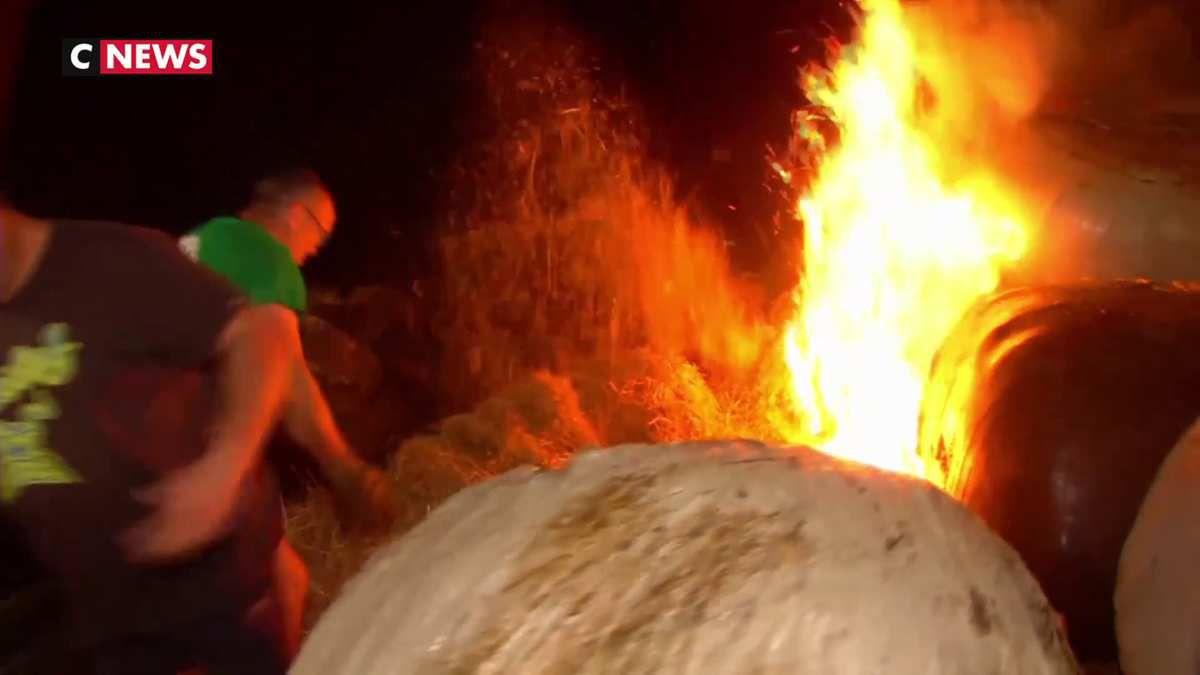 Les agriculteurs enflamment des ronds-points pour protester contre les ZNT