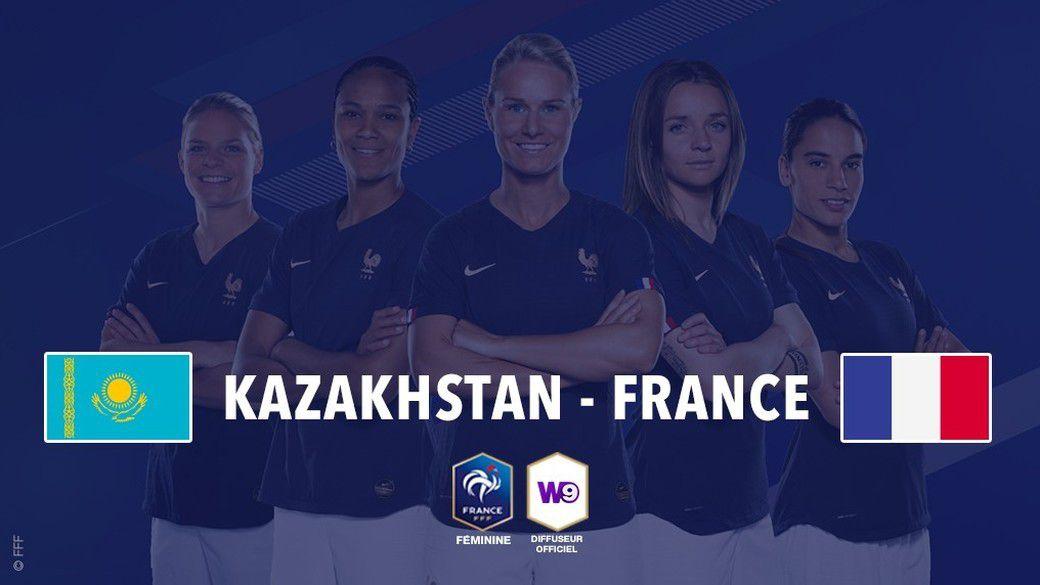 Match de qualifications pour l'Euro Féminin 2021 qui opposera le Kazakhstan à la France, le mardi 8 octobre à 16h50 sur TF1