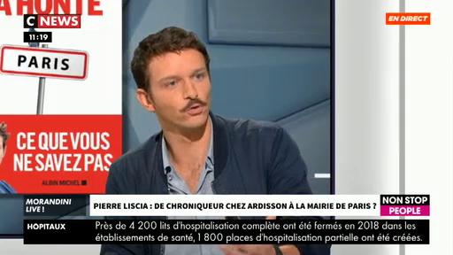 """Pierre Liscia propose à Anne Hidalgo de venir débattre en direct dans """"Morandini Live"""" face à """"la honte qu'est devenue Paris"""""""