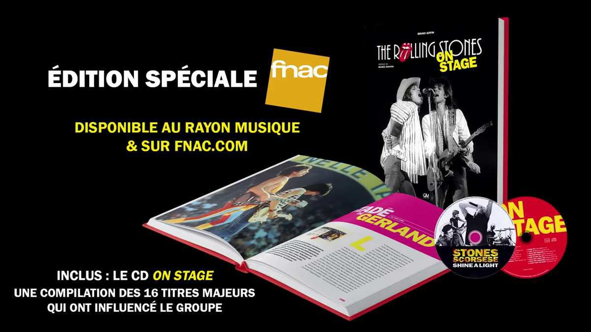 The Rolling Stones on Stage chez GM éditions