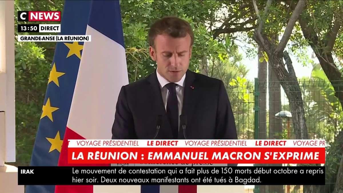 Emmanuel Macron : «En un an, ce sont deux mille chômeurs de moins sur la Réunion.