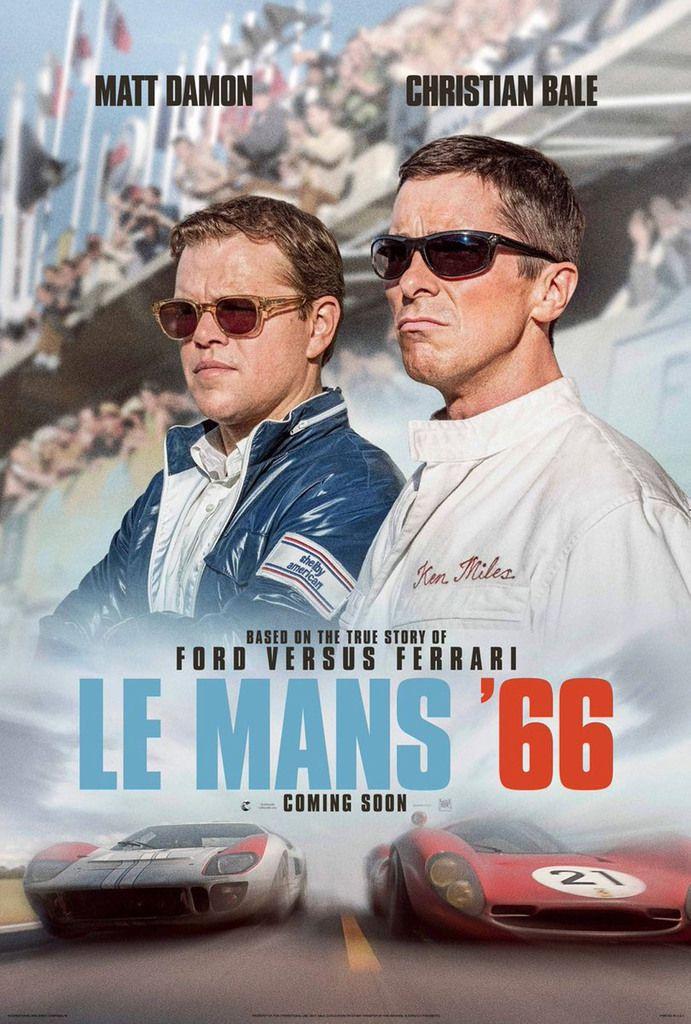 """Matt Damon et Christian Bale à l'affiche du biopic """"Le Mans 66"""", en salles le 13 novembre"""