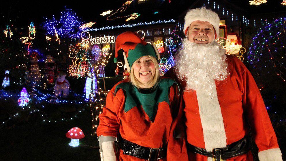 Documentaire inédit « Les maisons les plus allumées de Noël » dans la nuit du dimanche 22 au lundi 23 décembre à 00h30 sur 6Ter