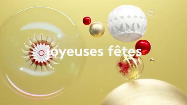 Découvrez les images du clip des fêtes de fin d'année de France 2 avec plusieurs animateurs de la chaîne