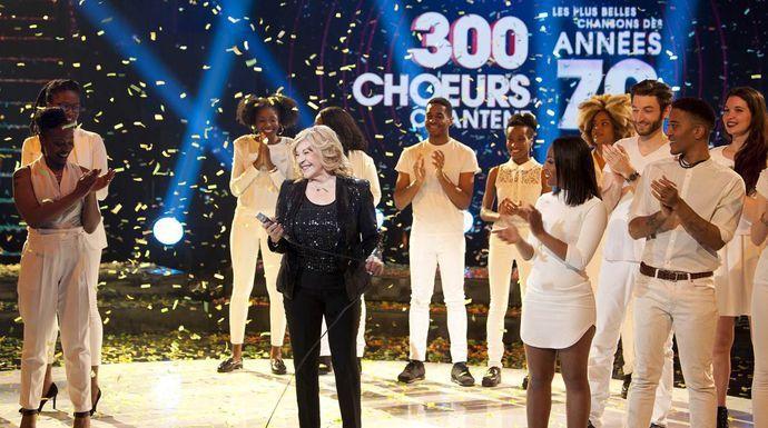 """""""300 chœurs chantent les plus belles chansons des années 70"""" vendredi 27 décembre à 23h25 sur France 3"""