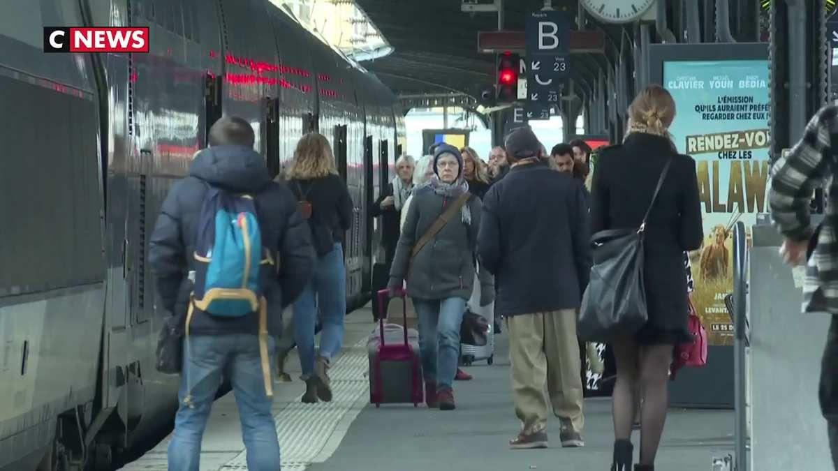 La SNCF dévoile son plan de transport pour les 23 et 24 décembre