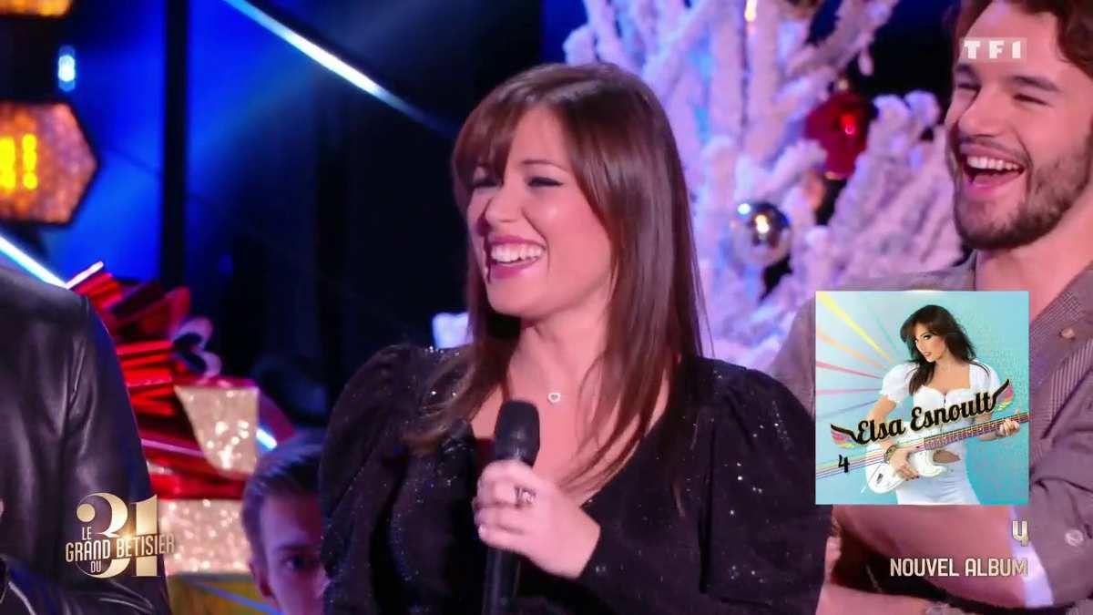 Elsa Esnoult n'échappe pas à la règle du bêtisier des Mystères de l'amour, le soir du 31 sur TF1