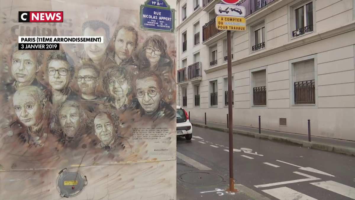 Charlie Hebdo : 5 ans après, la rue Nicolas Appert n'a rien oublié