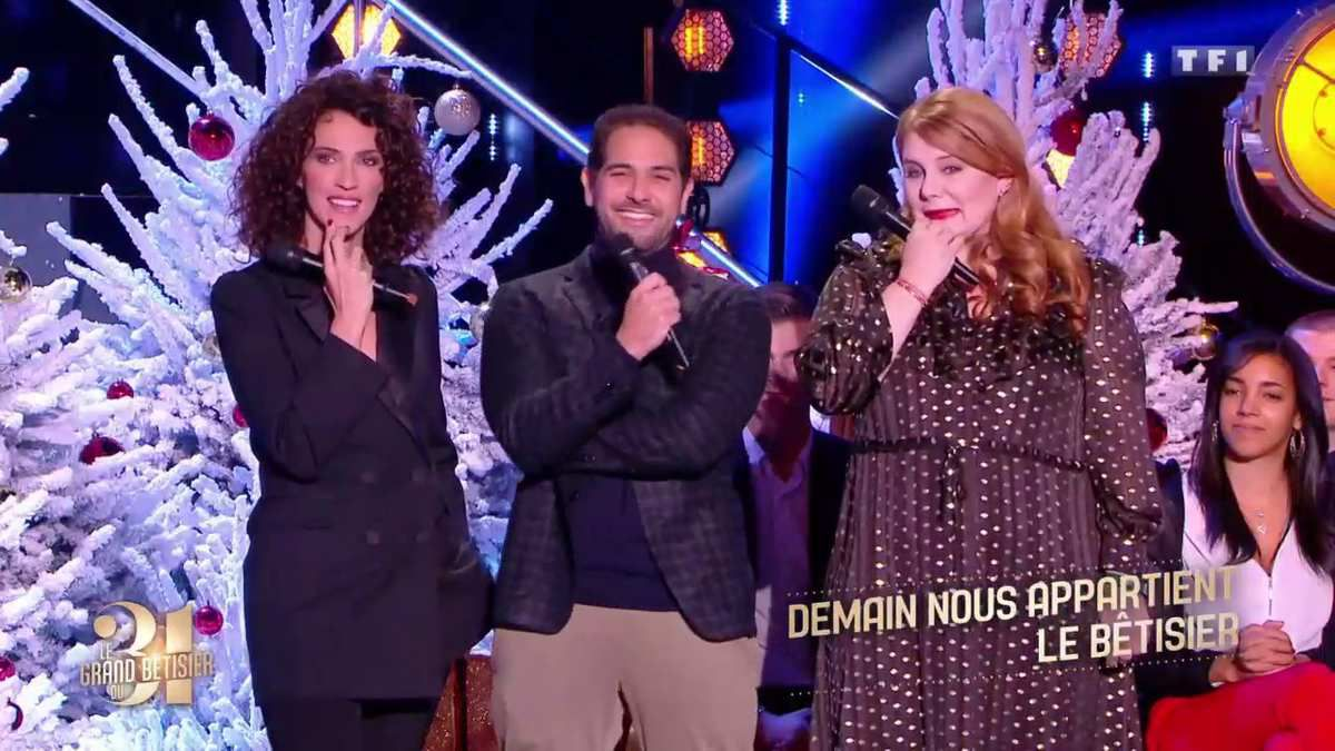 Les comédiens de Demain nous appartient revivent une année de fou rire le soir du 31 sur TF1