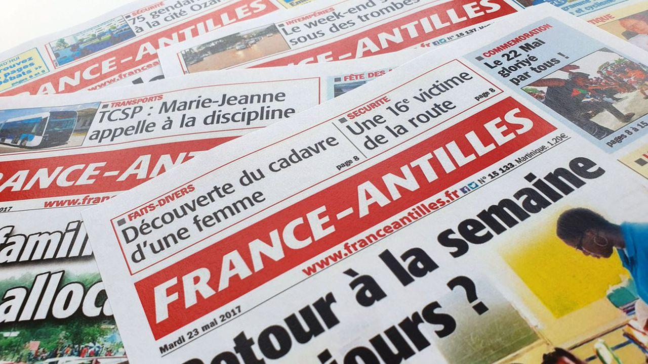 """Emmanuel Macron assure lors de ses voeux à la presse que """"des mesures spécifiques"""" seraient prises pour aider la presse en Outre-mer """"particulièrement fragilisée"""