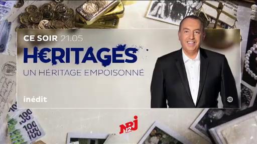 """Ce soir, à 21h05 sur NRJ12, Jean-Marc Morandini présente un nouveau numéro de """"Héritages"""" : """"Un héritage empoisonné"""""""