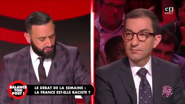 """Accrochage hier soir entre Cyril Hanouna et Jean Messiha du Rassemblement National : """"C'est raciste ce que vous dites ! Vous voulez dire que je suis l'arabe de service ?"""""""