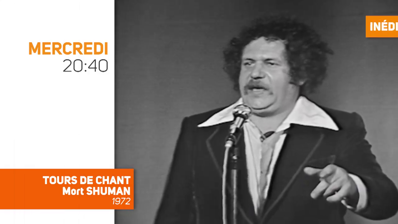 """""""Tour de chant : Mort Shuman"""", un concert jamais revu depuis 1972, mercredi soir sur TV Melody"""