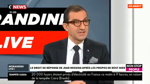"""Jean Messiha (RN) : """"Quand je me fais appeler Hossam et traiter de chameau, tout le monde s'en fout"""""""