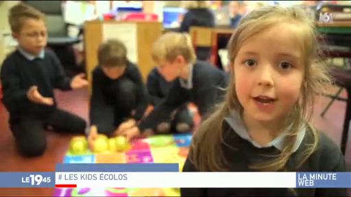 Des écoliers irlandais font un rap pour inciter à devenir plus écolo