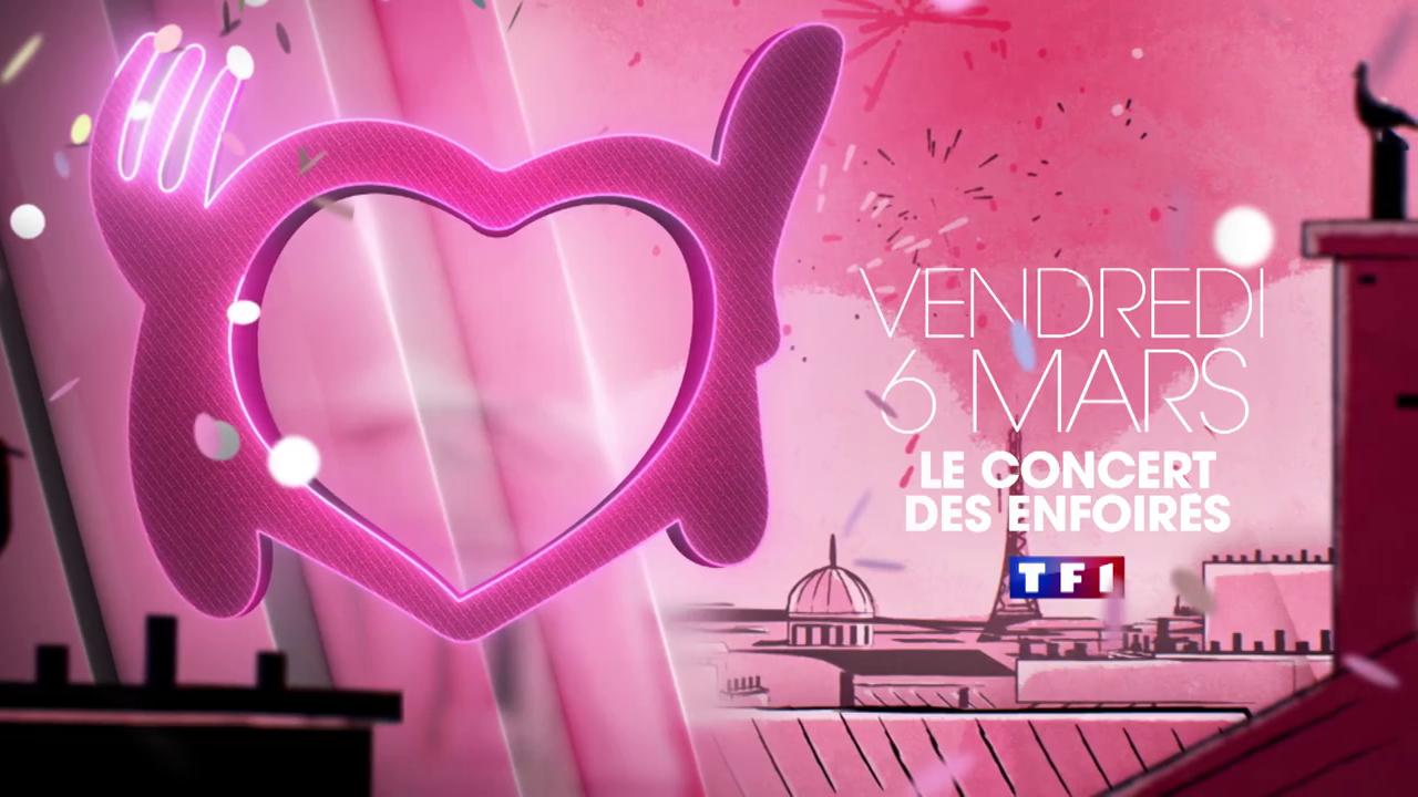 La soirée des Enfoirés sera diffusée vendredi soir à partir de 21h05 sur TF1. Découvrez également le clip officiel de l'hymne 2020