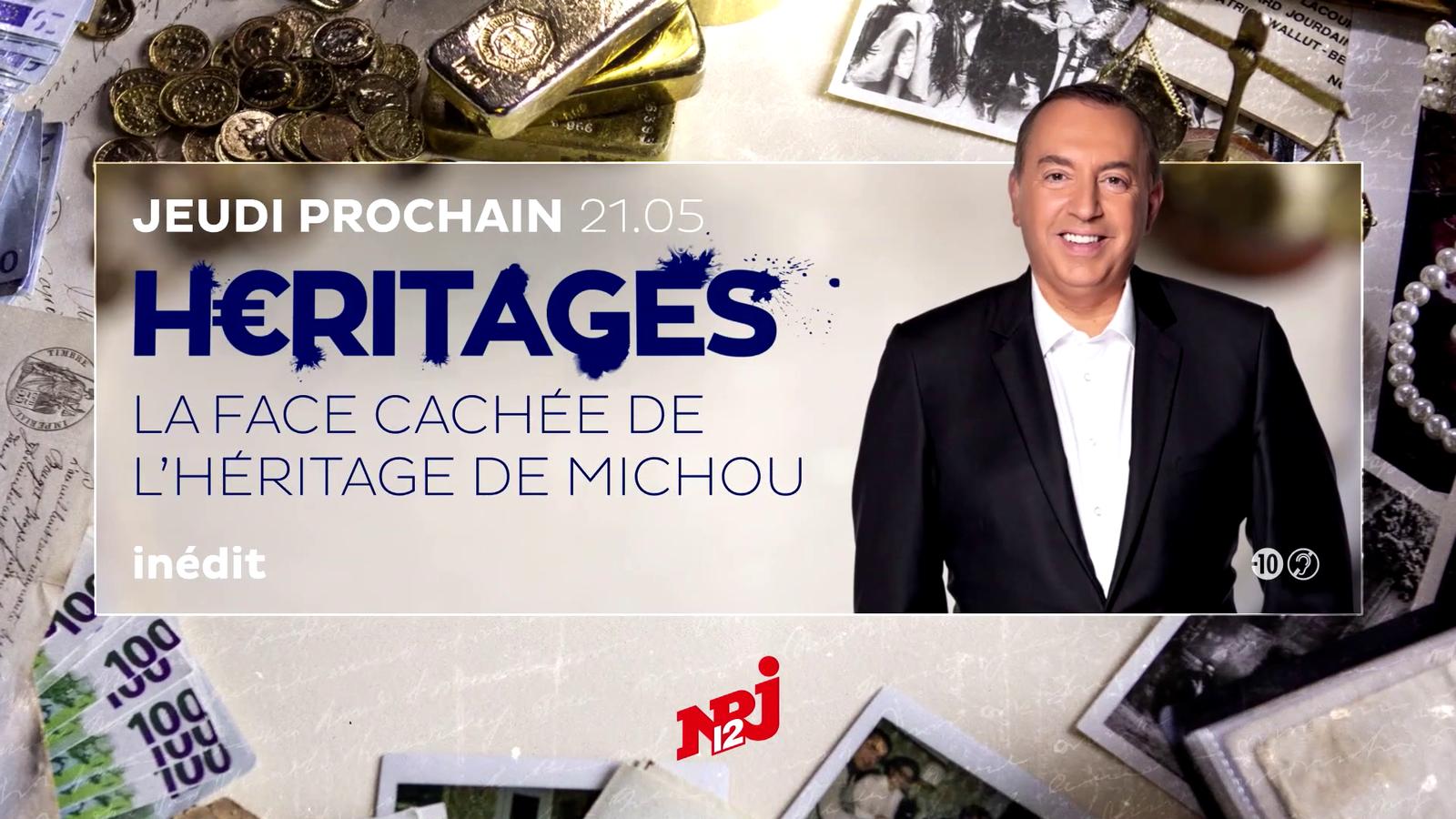 """""""Héritages : Spéciale la face cachée de l'héritage de Michou"""" demain soir à 21h05 sur NRJ12"""