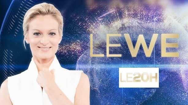 Le JT du week end 20h de TF1 du 22 février