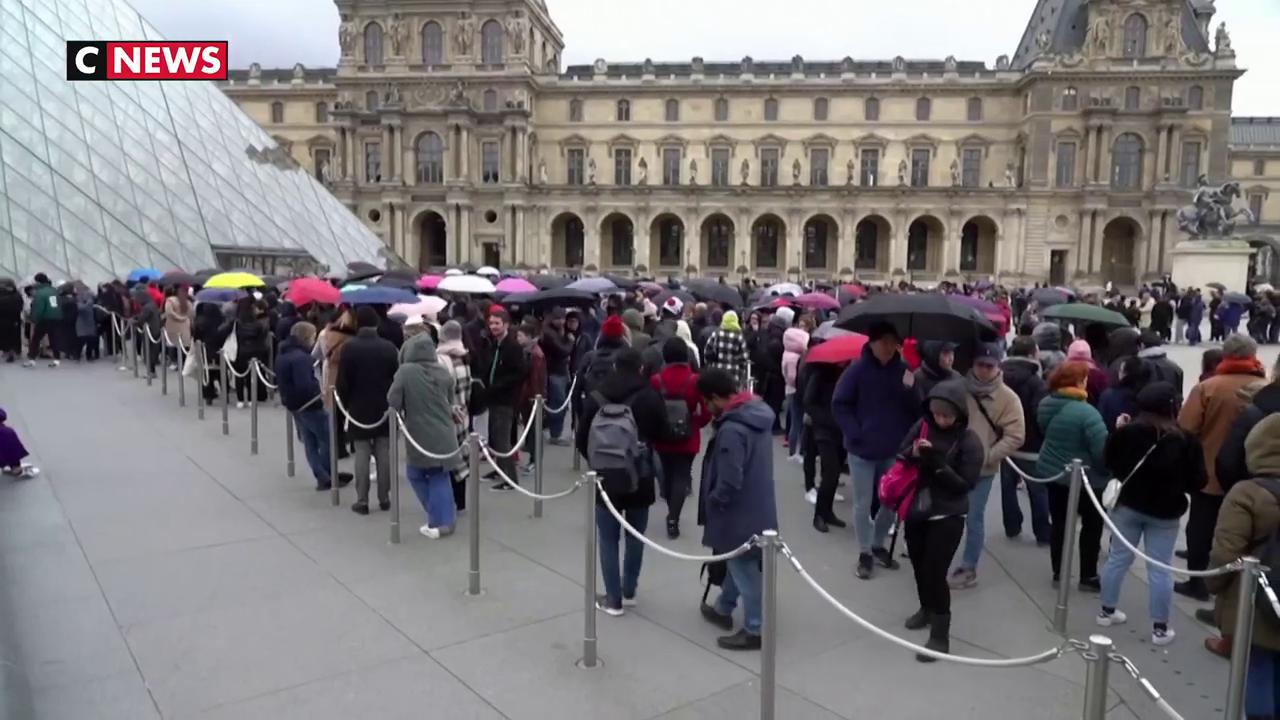 Coronavirus : Le Louvre a fermé ses portes toute la journée de dimanche