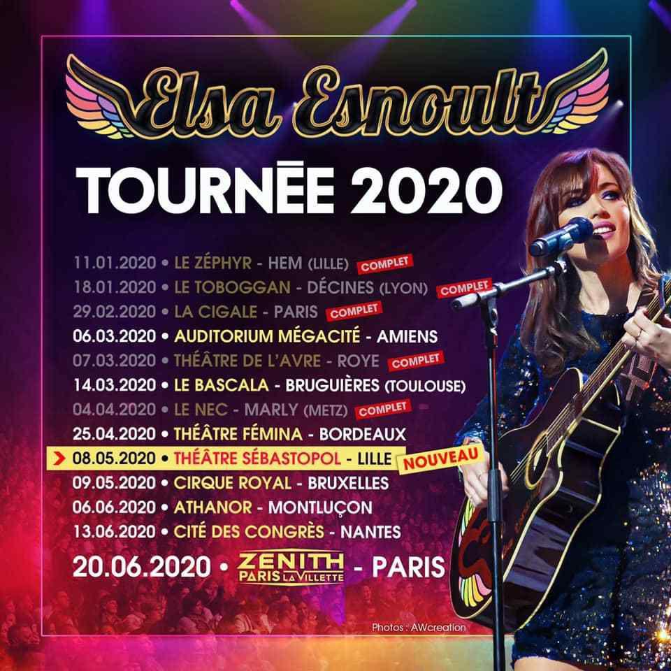Le Fil Actu - Nouvelle date ce samedi pour Elsa Esnoult à Roye