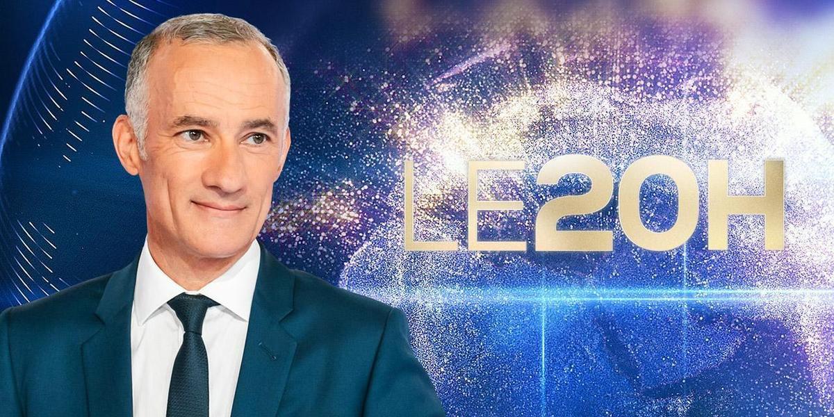 Le JT du 20h de TF1 du 12 mars