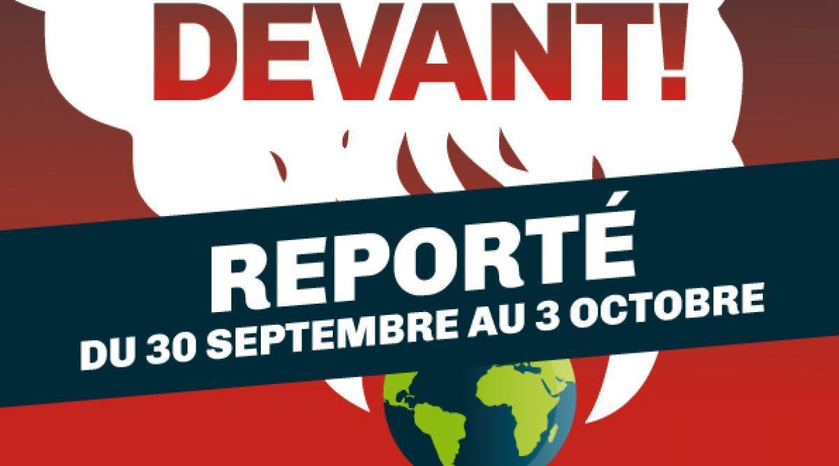 Les Assises du journalisme reportées à fin septembre
