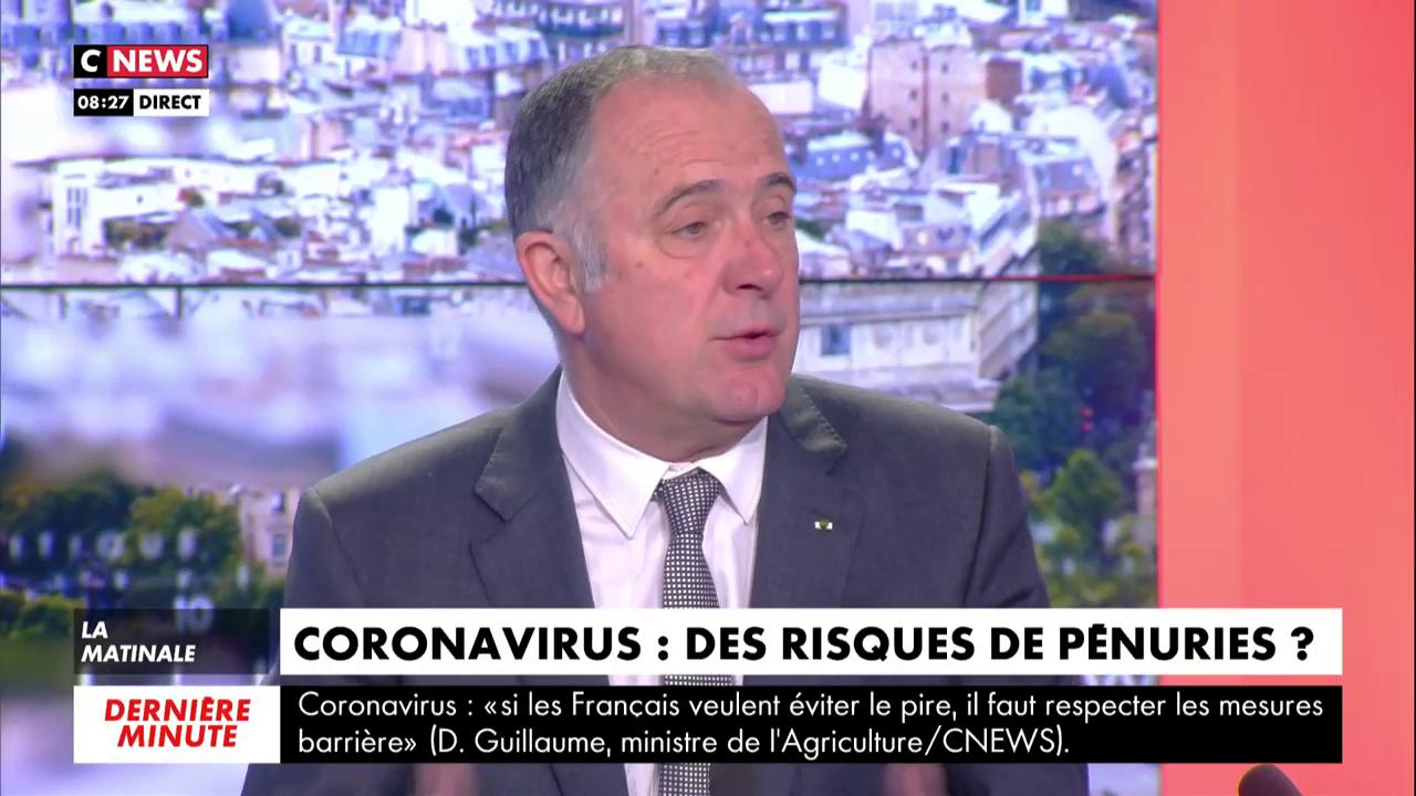 «Il n'y aura aucun problème d'approvisionnement, il n'y a pas de pénurie», selon Didier Guillaume