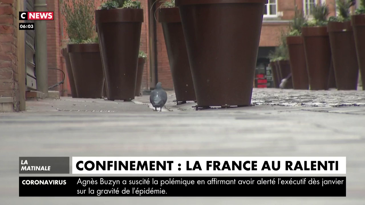 Confinement : La France au ralenti