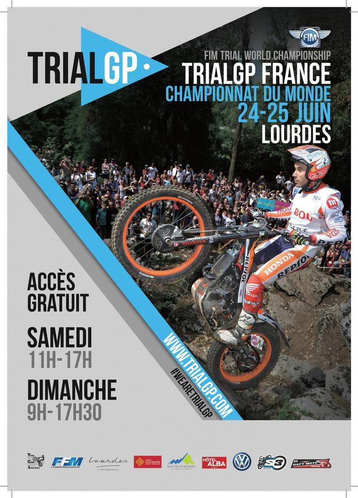 TRIALGP - Lourdes 24 et 25 juin 2017 J-21