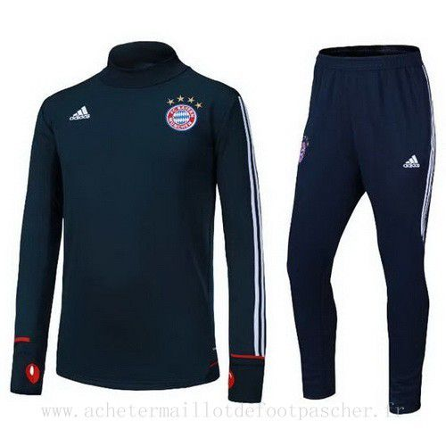 survetement foot de ensemble adidas bleu fonce bayern. Black Bedroom Furniture Sets. Home Design Ideas